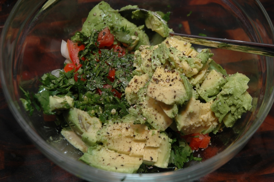 Snackin' with Sarah Sellers: Shrimp Tostadas with Avocado ...