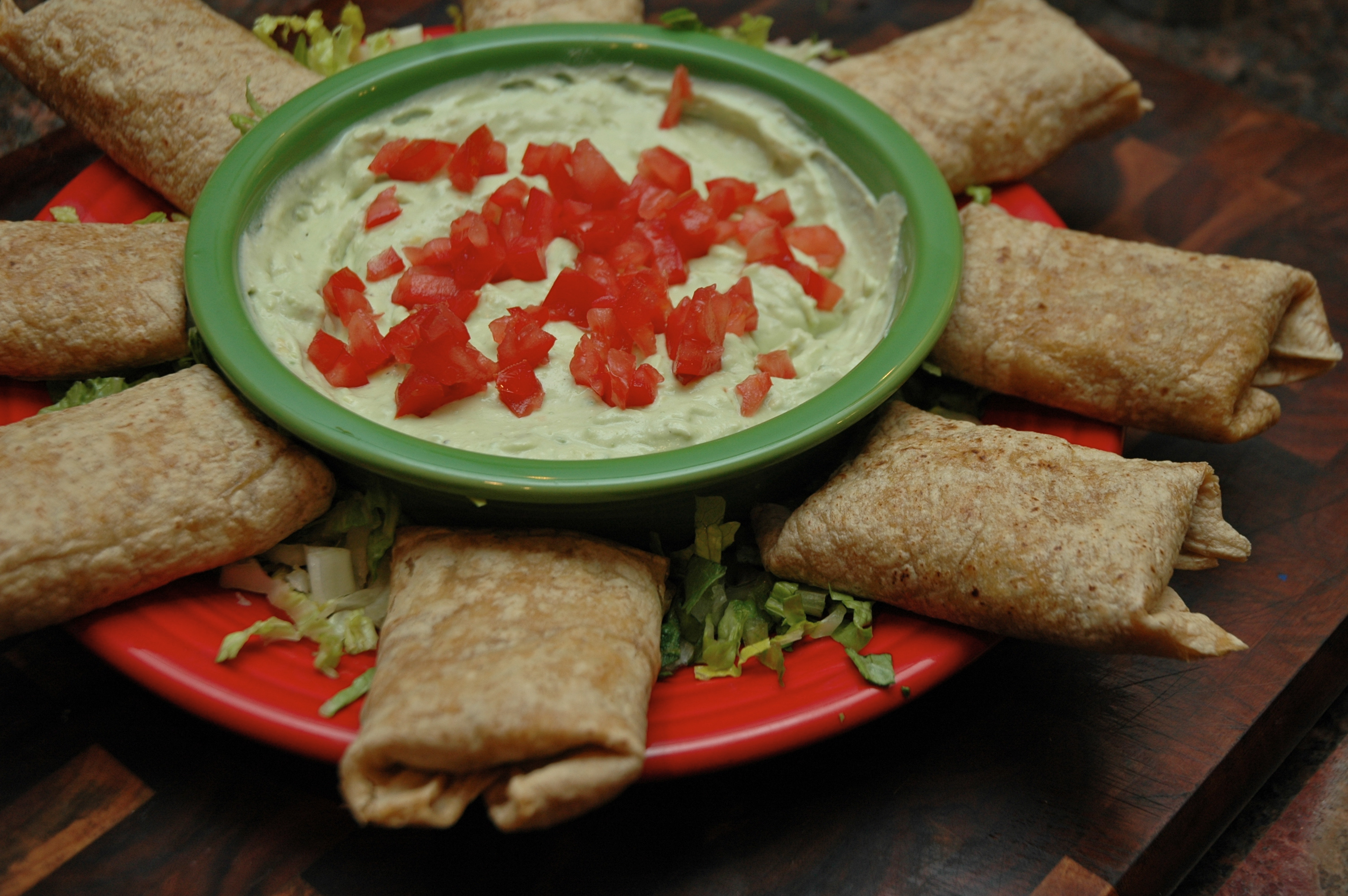 ' with Sarah Sellers: Taco Packets with Avocado Cream « Sarah ...