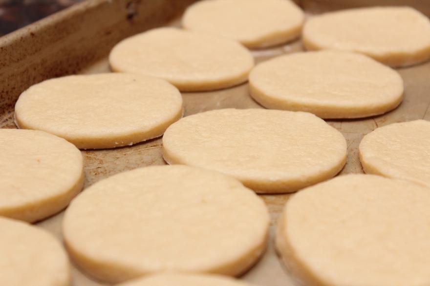 Cheesy Prosciutto Biscuit Bites