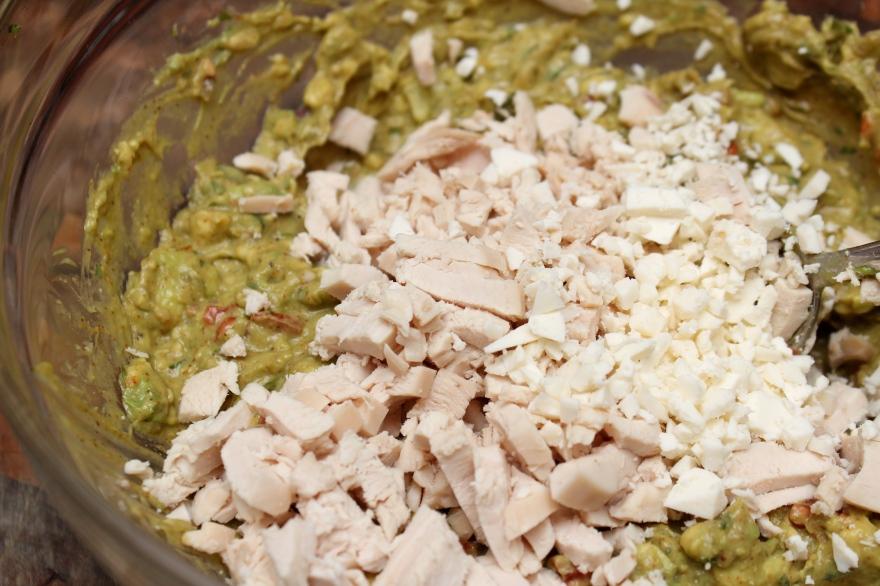 Guacamole Dumplings