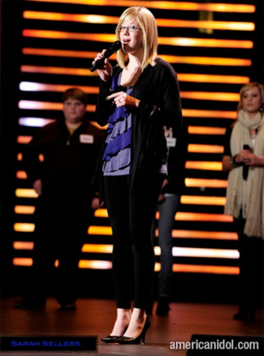 Sarah Sellers - American Idol Season 10