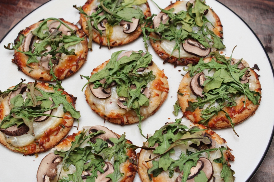 Mini White Pizzas