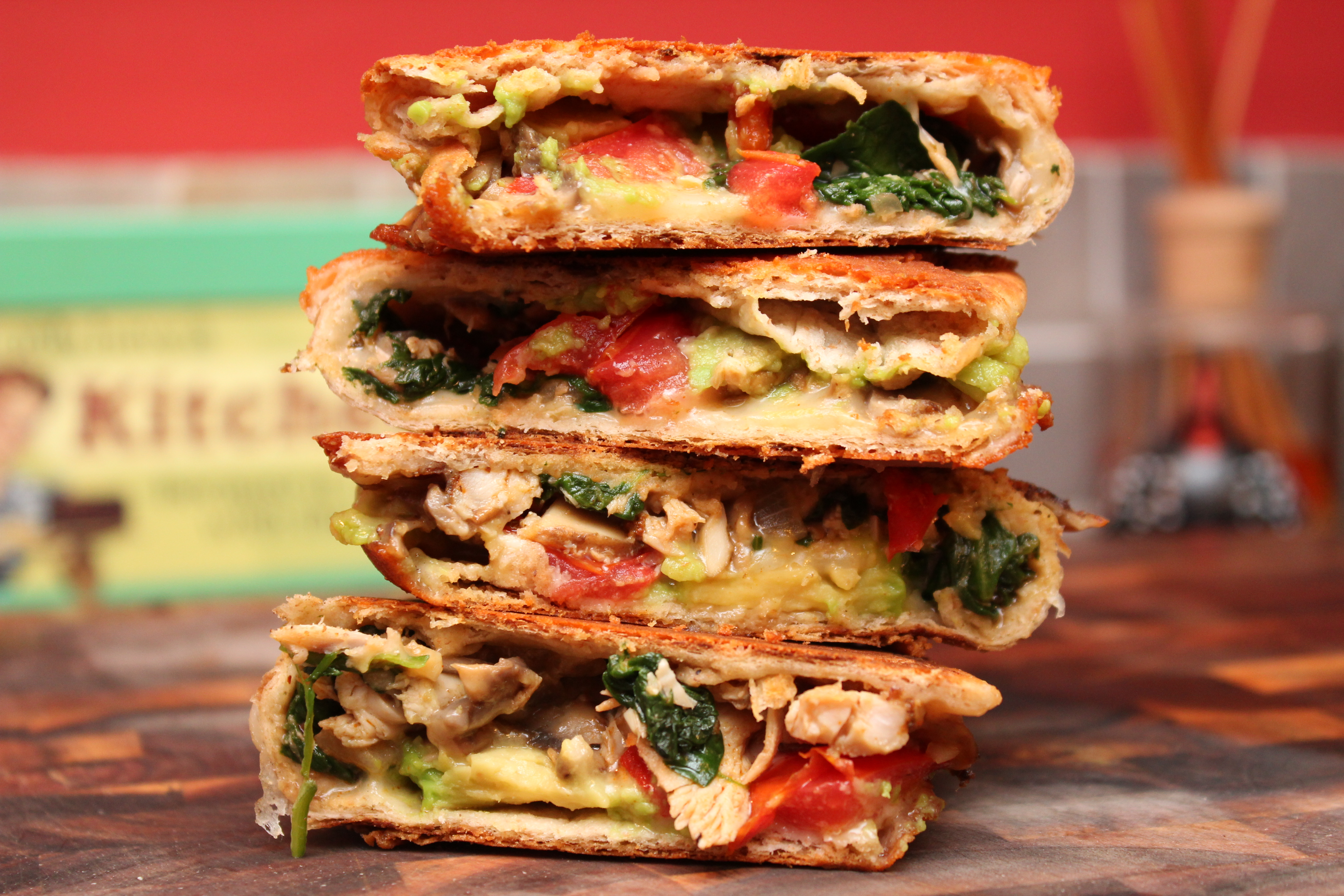 Mushroom, Spinach, And Gouda Quesadillas Recipes — Dishmaps
